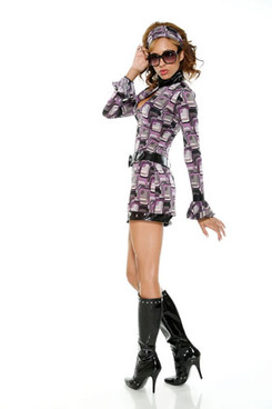 FP-558438, SexyAGoGo Costume (CLEARANCE)