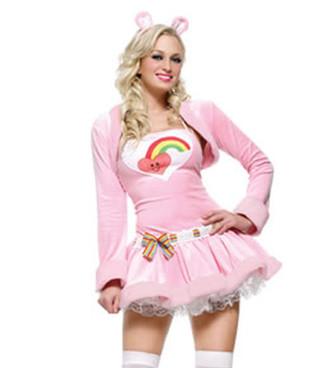 LA-83418, Pink Cuddly Bear Costume