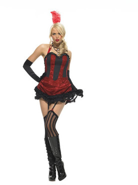 LA-83426, Burlesque Dancer Costume