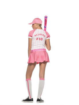 LA-J48004, Teen All Star Girl Costume