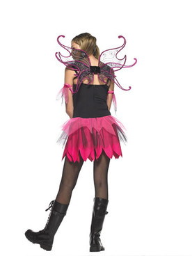LA-J48009, Teen Dark Pixie Costume
