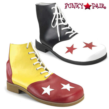 Funtasma | Men's CLOWN-02 Shoe with Stars