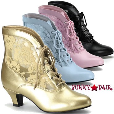 Funtasma DAME-05, Victorian Ankle Boots
