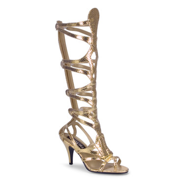 GODDESS-12, Gold Egyption Sandal