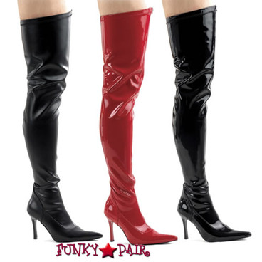 Funtasma | 3.75 Inch Stiletto Heel Thigh High Boots * LUST-3000 size 6-12