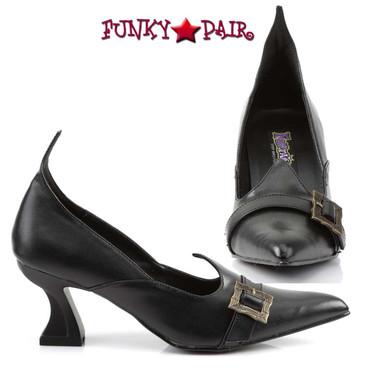 SALEM-06, Witch Costume Shoes   Funtasma