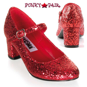 Funtasma | Women's SCHOOLGIRL-50G, Glitters Costume Shoes