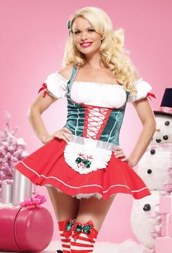LA-83472, Mistletoe Sweetheart Costume
