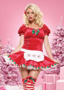 LA-83470, Candy Cane Cutie Costume
