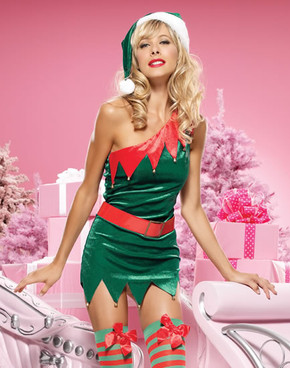 LA-83463, Sexy Elf ToyLand Babe Costume