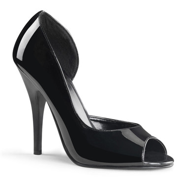 Open Toe and Close Heel Pump Pleaser | Seduce-212
