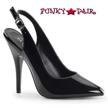 Pleaser Shoes | Seduce-317, Slingback pump