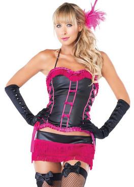 LA-53092, Burlesque Beauty Girl Costume