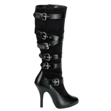 ARENA-2030, Adjustable Buckles  Knee High Boots by FUNTASMA