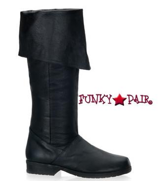 Maverick-8812, Men Knee High Leather Boot | Funtasma