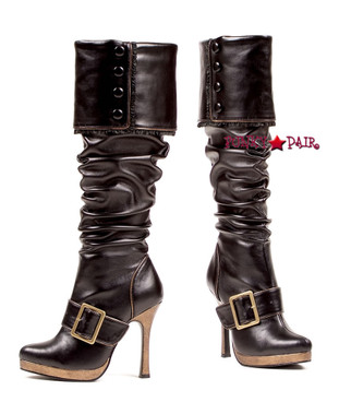 4 Inch Knee High Pirate Boots | Ellie 426-Grace,
