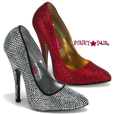 Bordello Pumps | Scandal-620R, Rhinestones Pump