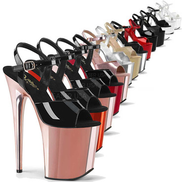 Stripper Shoes Flamingo-809, Ankle Strap Exotic Dancer Shoes