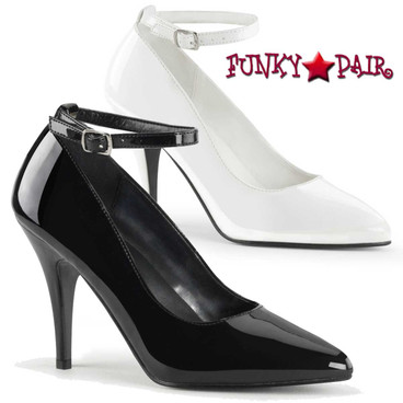 Pleaser | Vanity-431, Ankle Strap Pumps