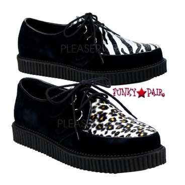 Animal Print Men Creeper-600 Shoes