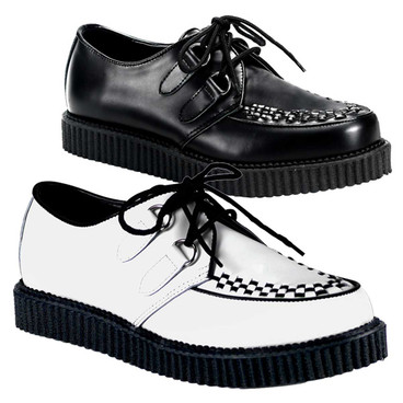 Men's Leather Creeper-602 Demonia