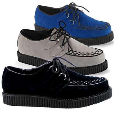 Suede Creeper-602S Men's Demonia