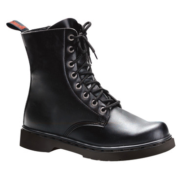 Demonia | Men Defiant-100, Vegan Goth Punk Boots