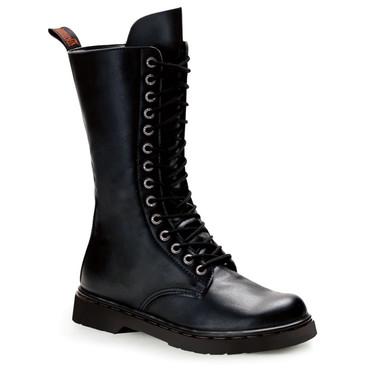 Demonia | Men Defiant-300, Mid Calf Combat Boots