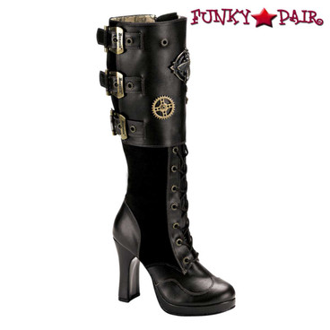 Demonia Boots | Crypto-302 Steampunk Boots