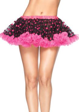 LA-1702, Chiffon Mini Petticoat