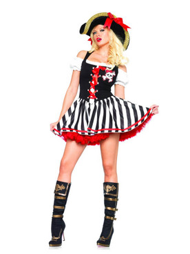 LA-83635, Pirate Booty Babe Costume (CLEARANCE)