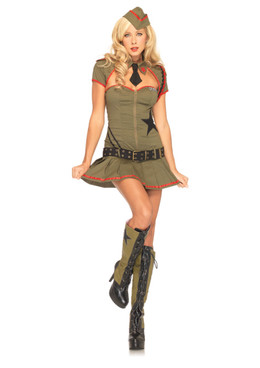 LA-83696, Private Pin Up Costume (CLEARANCE)