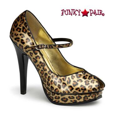 Pin-Up Couture | Pleasure-02, Platform Peep Toe Pump