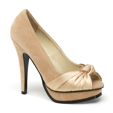 Pleasure-05, Platform Peep Toe Pump | Pin-Up Couture