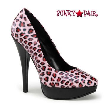 Pink Leopard Platform Pump | Pin-Up Shoes Harlow-01