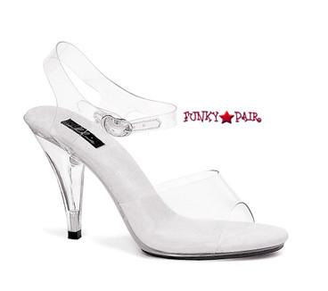 Ellie Shoes | Women's 405-BROOK Clear Sandal