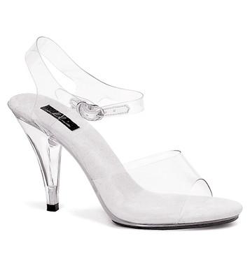"405-Brook 4"" Women's Clear Dress Ellie Shoes"