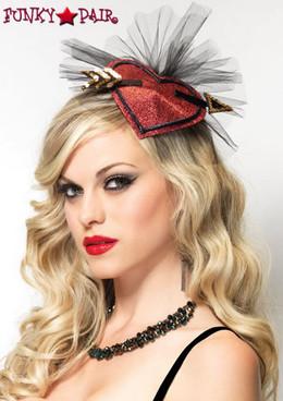 LA-1690, Cupid Lurex Hair Clip