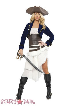 R-4245, Deluxe Colonial Pirate Costume