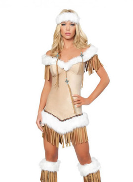sexy indian native costumes Indian Snow Princess Costume
