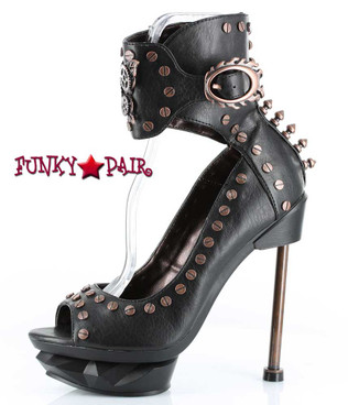 Hades | Steam Punk machinery rivets and spikes Black