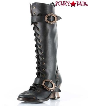 Hades VINTAGE | Victorian Knee High Boot |