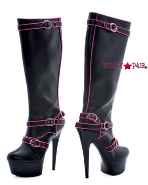 601-Fame, 6 Inch Knee High Boots * Made by ELLIE Shoes
