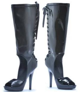 Ellie Shoes | M-Carmella, Knee high lace up Sandal