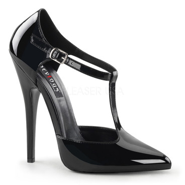 Domina-415, T-Strap D'Orasay Style Pump