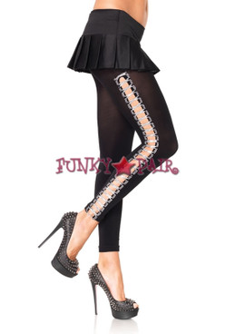 7895, Lurex Ribbon Footless Tights