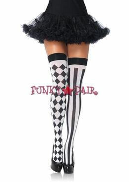 6120, Harlequin Thigh Highs