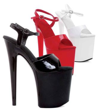 "Ellie Shoes | 850-JULIET 8"" Pole Dancing Platform"