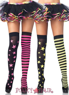 6319, Stars and Stripes Thigh Highs