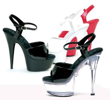 Ellie Shoes | 609-Juliet 6 Inch Exotic Dancer Heels